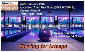 bowling for arteaga